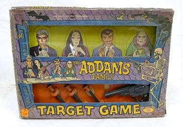 Addams-Family-Target-game