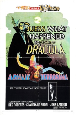 guess what happened to count dracula poster