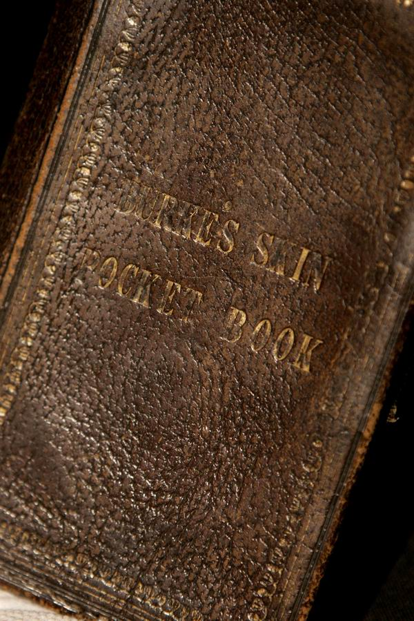 book of the dead made of human skin