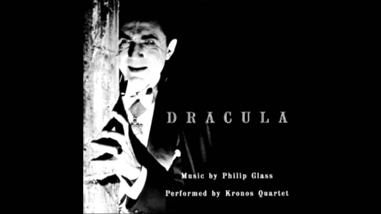 dracula u2013 1931 with philip glass score performed by the kronos