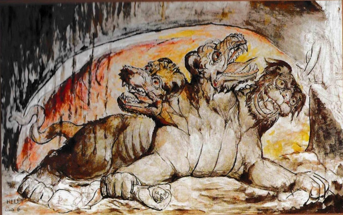 William-Blake-Cerberus-painting-1824-7