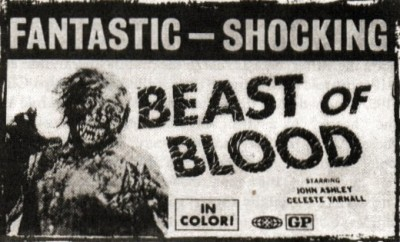 beast of blood ad mat
