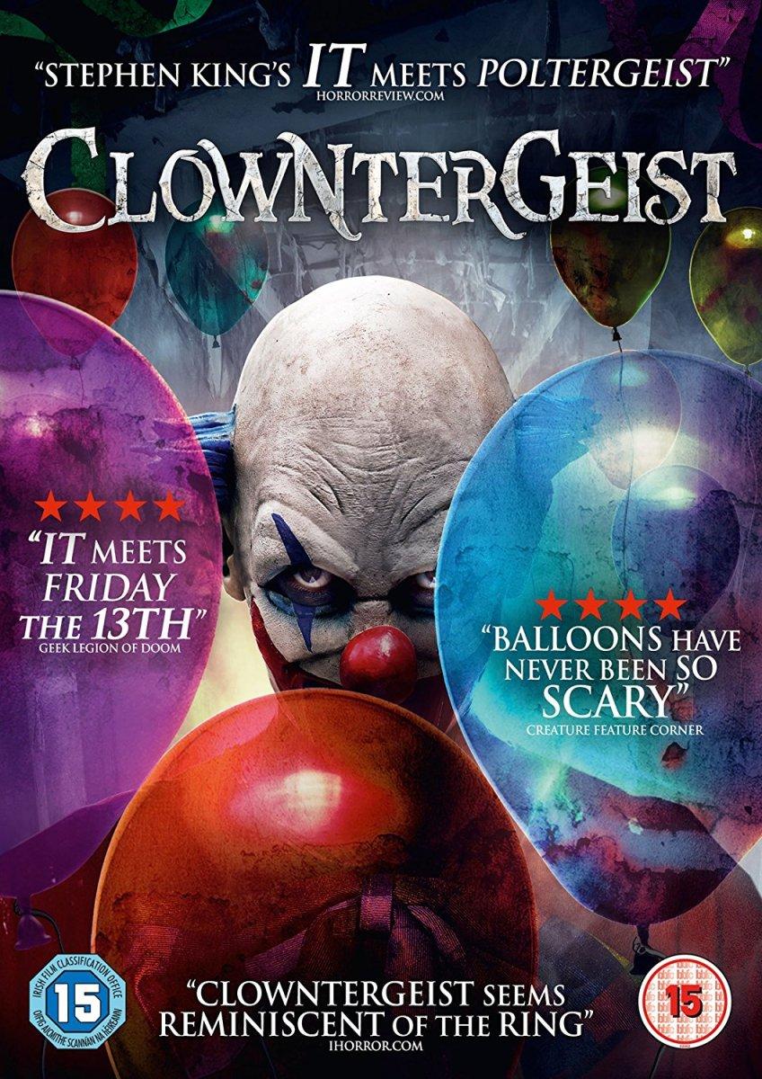 Resultado de imagem para Clowntergeist (2017) poster