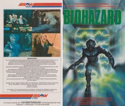 Biohazard-German-VHS