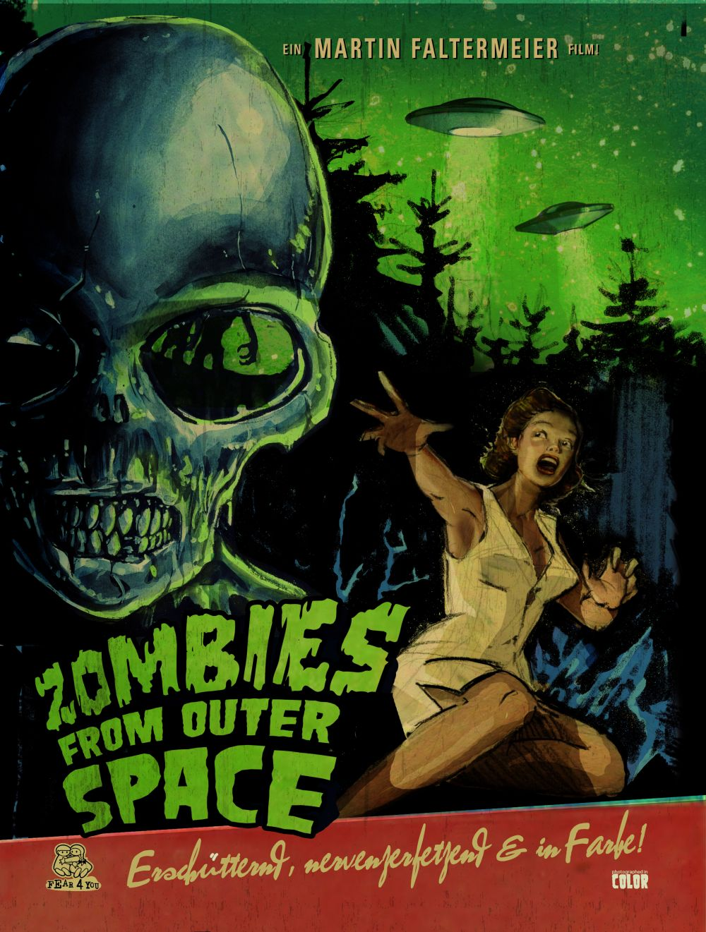 Zombies from outer space horrorpedia for The thing that came from outer space