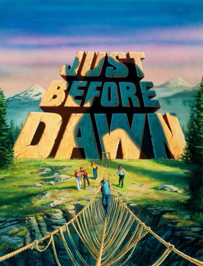 Bob Larkin Just Before Dawn Movie Poster Detail