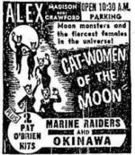 Cat-Women-of-the-Moon-1953-ad-mat-Chicago-Alex-Theater