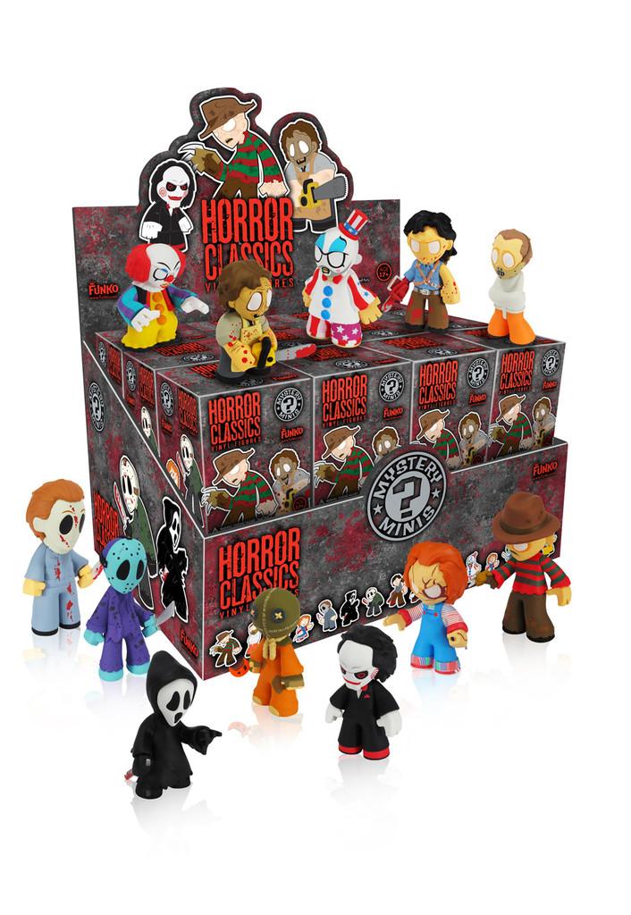 Horror Classics Mystery Minis Novelties Horrorpedia