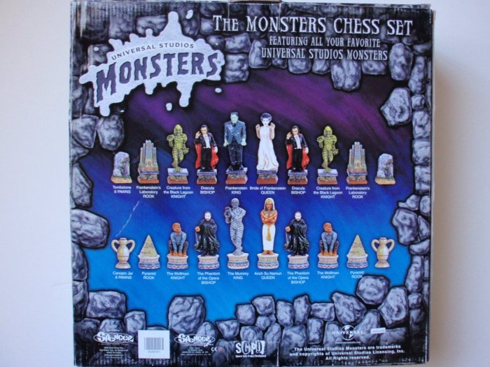 The-Monsters-Chess-Set-Universal-monsters-back