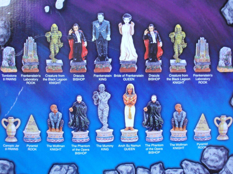 the monsters chess set u2013 game u2013 horrorpedia