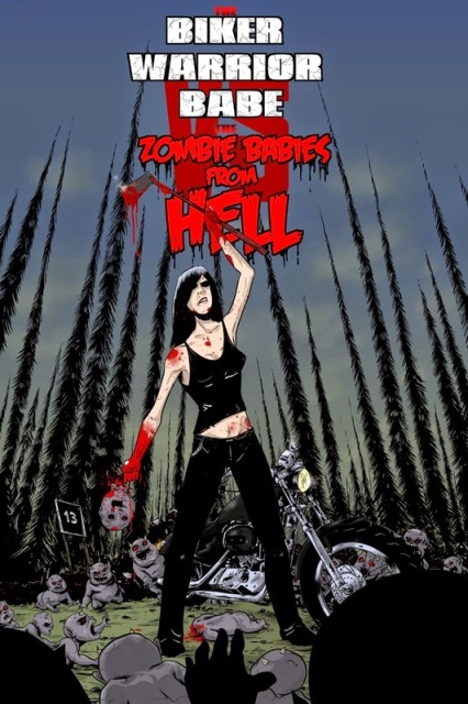 Biker Warrior Babe vs. The Zombie Babies from Hell-2014-horror-movie