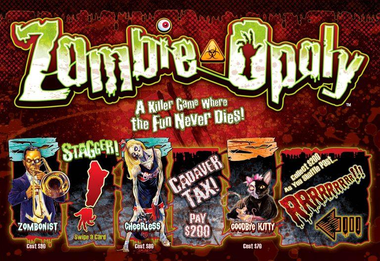 Zombie-Opoly-box-lidmondozilla82286197-f16b-4d36-83bd-0c66aa85460d.jpg._CB327512955_Zombie-Opoly Board Game