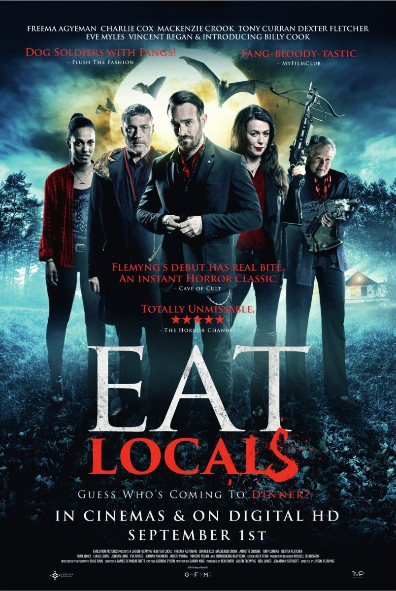 Eat Locals - UK, 2017