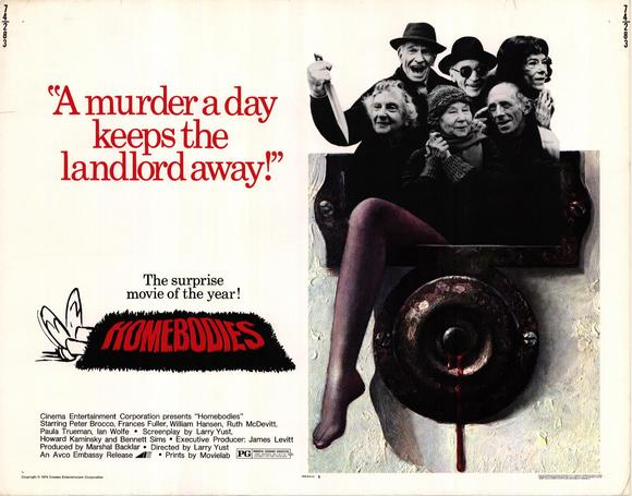 homebodies-movie-poster-1974-1020240054mondozillahomebodies-1974-avco-embassy-poster00296707regional-horror-films-brian-albrighthomebodies6Nightmare USA Stephen Thrower FAB Presshomebodies-movie-poster-1974-1020240054homebodieshomebodieshomebodies-ad-mat123a9a400011e47ab51401afd75e78b3