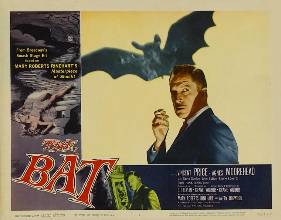 Poster - Bat, The (1959)_08mrhorrorpedia